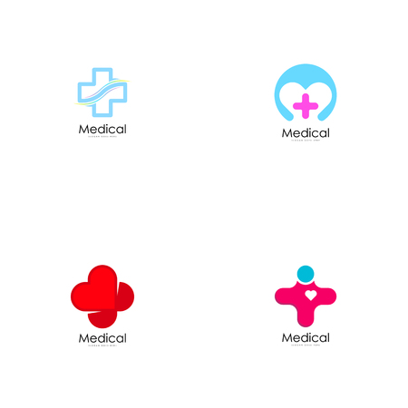Medical logo vector Çizim