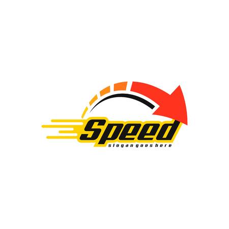 Geschwindigkeitslogovektor Logo