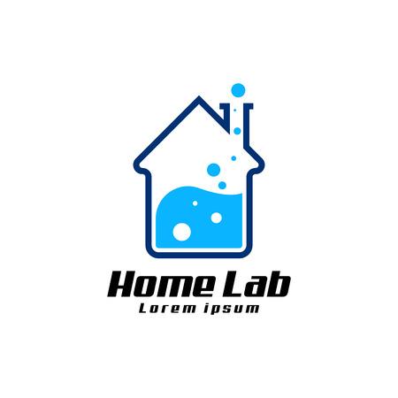 Laboratory logo vector Vettoriali