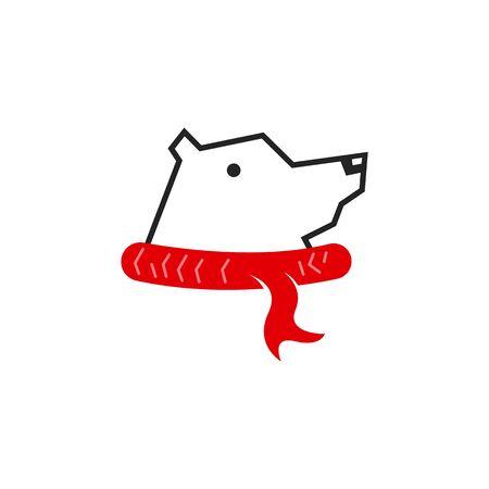 Bear logo concept vector Illustration
