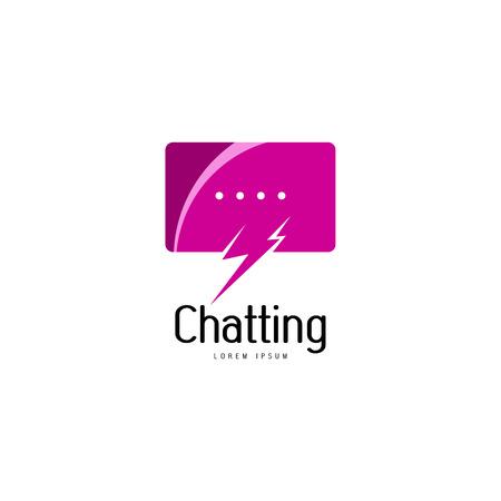 Chat logo template Logo