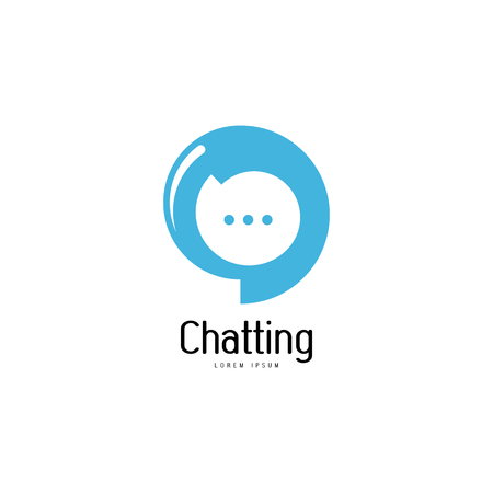 Chat logo template