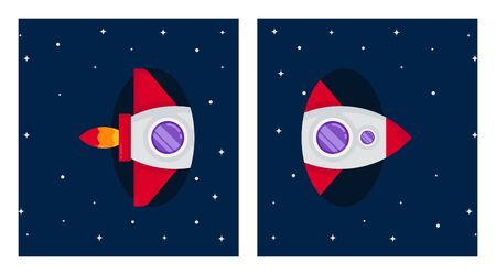 Outer space background illustration vector. Circumstances in space illustration