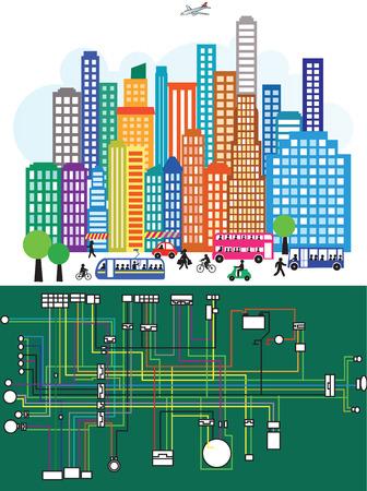 Metropolitan- Vektorgrafik
