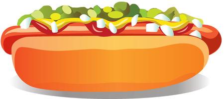 Hot Dog Standard-Bild - 29414667