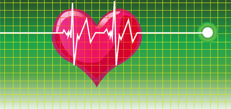 healt: cardiogram Illustration
