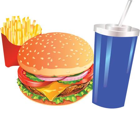 fas: hamburger