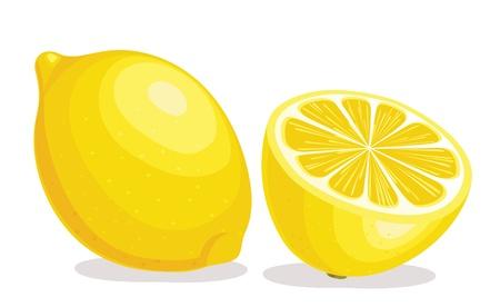 レモンの図  イラスト・ベクター素材