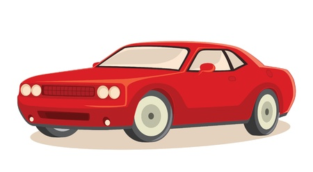 Car illustration Vector