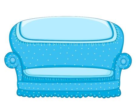 Couch illustratie