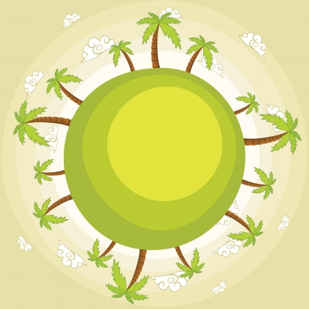 Earth illustration Vector