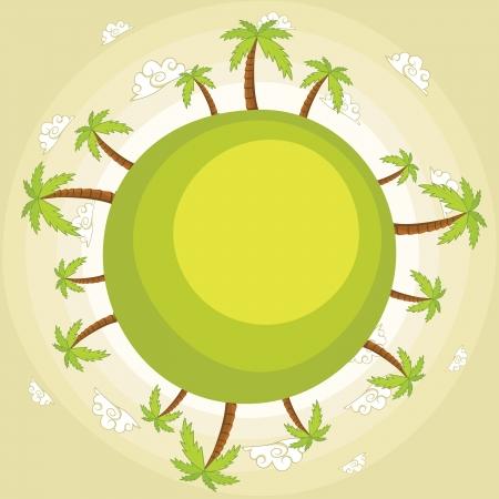 Earth illustration Stock Vector - 14200314
