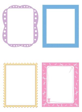 Leuke frames illustratie