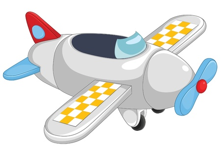 Plane illustratie