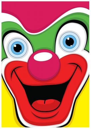 clown face: Clown  Illustration