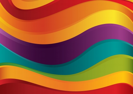 Colorful lines vector background