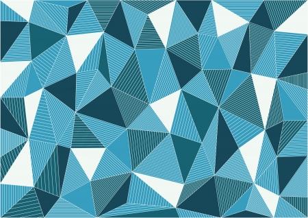Retro Triangles Vector Background Stock Vector - 19562485