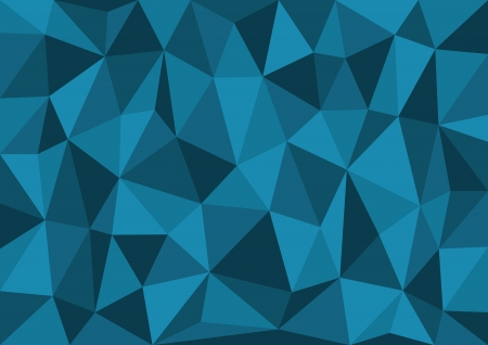 Blue Triangles Vector Background Vector