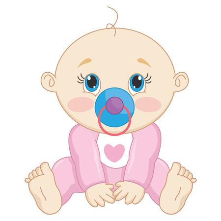 baby: Baby Vector Illustration