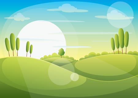 matterhorn: Green Landscape
