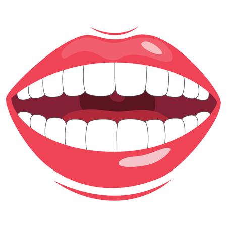 Teeth Vector Illustration Illustration