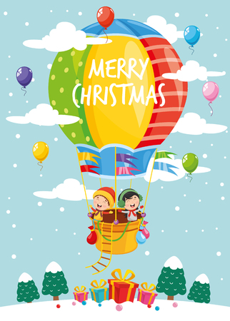 Vector illustration of Christmas elements 矢量图像