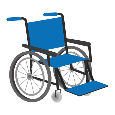 Vector Illustration Of Wheel Chair