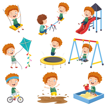 Vector Illustration Of Cartoon Character