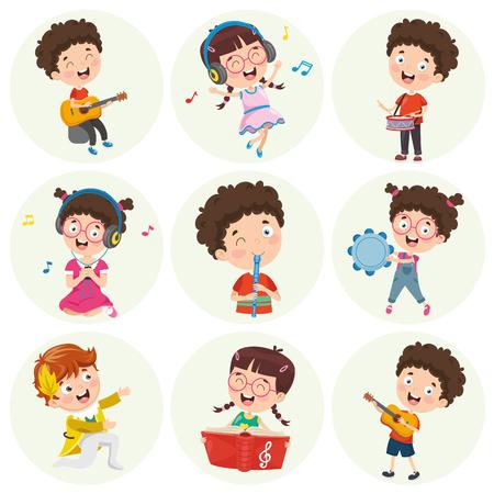Vector Illustration Of Cartoon Character Vector Illustratie