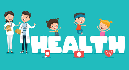 Vector Illustration Medical And Healthcare Ilustrace