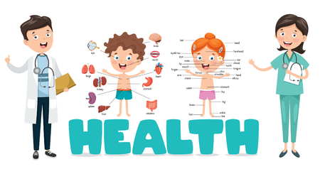 Vector Illustration Medical And Healthcare Stock Illustratie