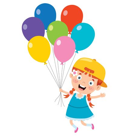 Colorful Balloons For Party Decoration
