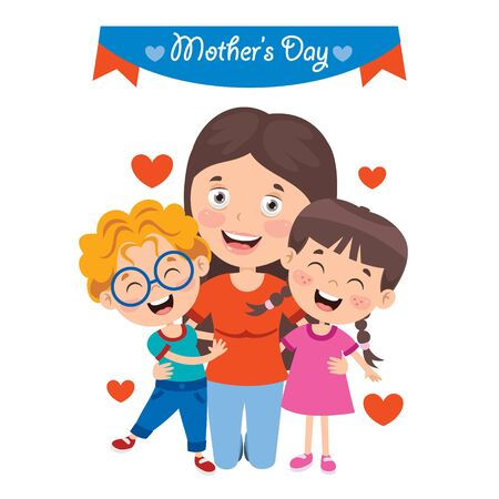 Concept Of Mothers Day Greeting
