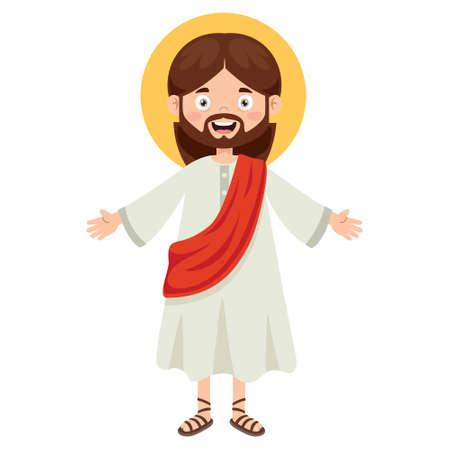 Cartoon Drawing Of Jesus Christ