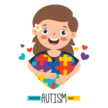 Concept Drawing of Autism Awareness