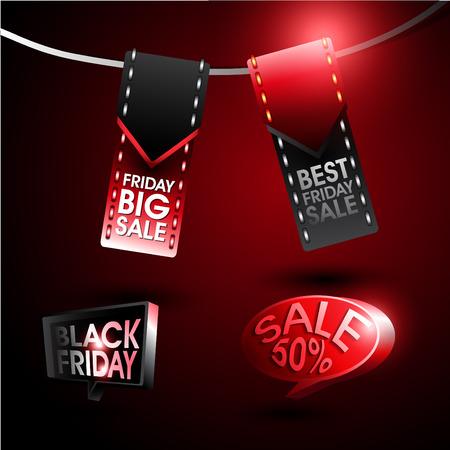 Black Friday Sale. Vector Eps.10 Vector