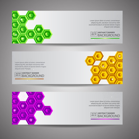 heading the ball: Abstract Polygon Banner background Illustration