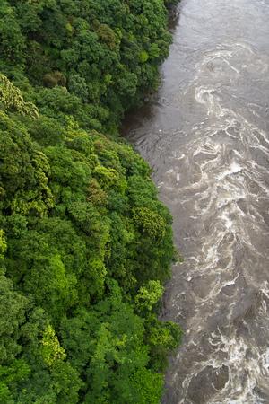 swollen: The swollen River Stock Photo