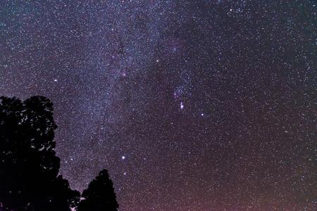 La vía Láctea Foto de archivo