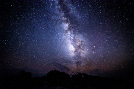The Milky Way of Yakushima