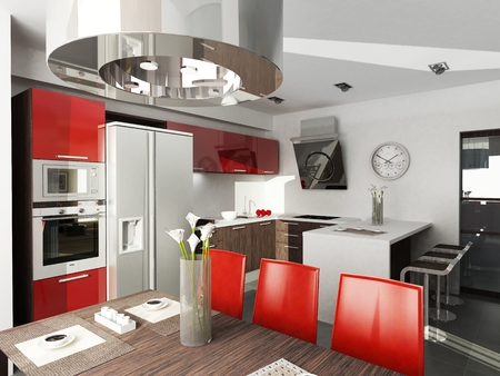 kitchen studio: Modern interior design  Kitchen