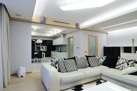 ceiling design: Design of interior  Living-room