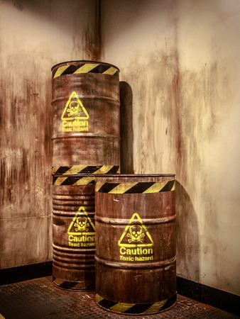 Toxic waste photo