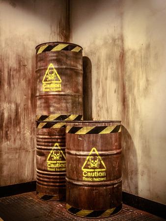 hazardous waste: Toxic waste Stock Photo