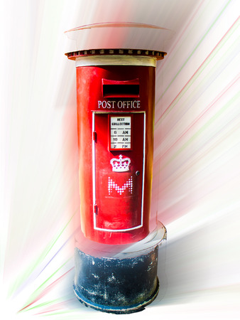 addressee: Red postbox