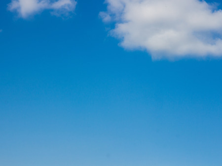 clouds in the blue sky can use as background. photo