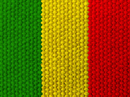 rasta colors: Rasta colors silk fabric background