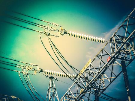 insulator: High-voltage electrical insulator electric