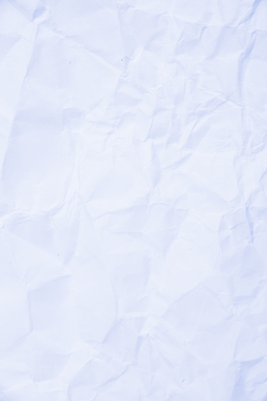 publications: Blue light color tone crumpled paper texture for background binding books, publications and background on the site. Study concept, business concept. Stock Photo