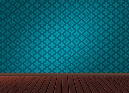 繊維の背景、室、インテリア、スタジオ、装飾、建築、ベクトル図を適用する、ビンテージ スタイルの木の床のパターン背景テクスチャ  イラスト・ベクター素材